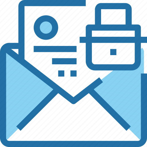 email, padlock, secure, security icon