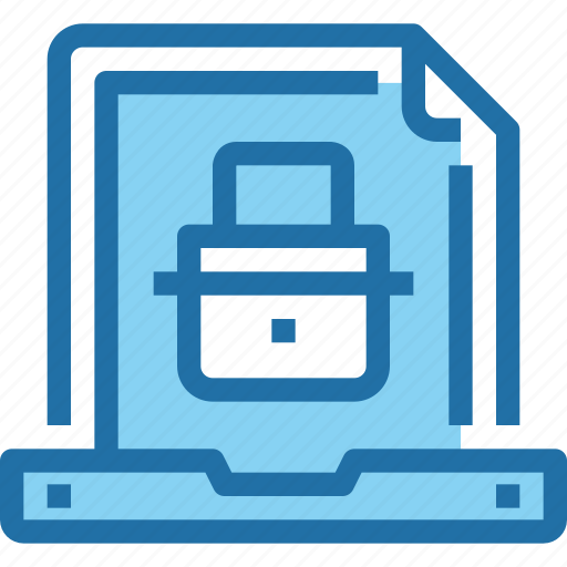 Document, padlock, secure, security icon - Download on Iconfinder