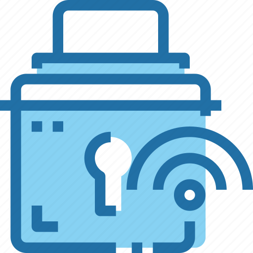 Network, padlock, secure, security icon - Download on Iconfinder
