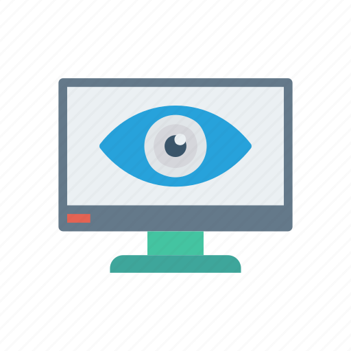 eye, review, view, watch icon