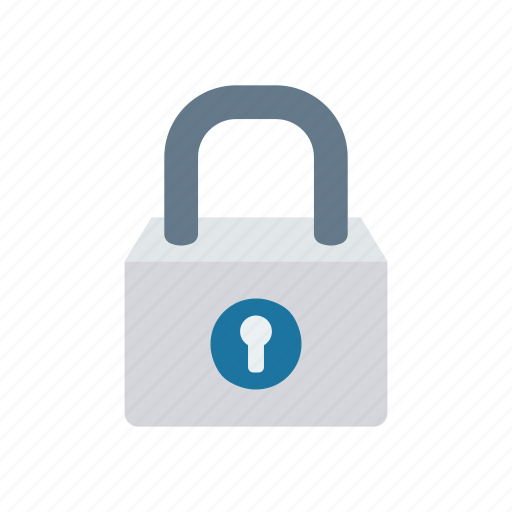 lock, padlock, protection, secure icon