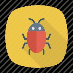 beetle, bug, insect, virus icon