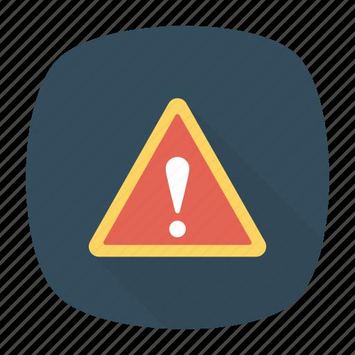 alert, caution, error, exclamation icon