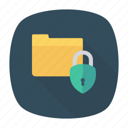 lock, private, protect, secure icon