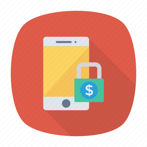 lock, mobile, protection, security icon