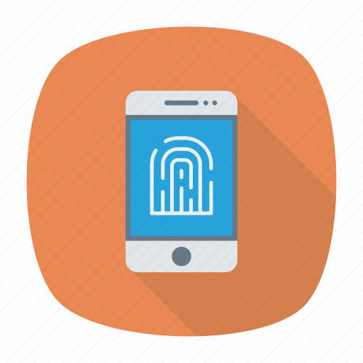 mobile, protection, scanner, secure icon