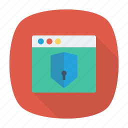 protection, security, shield, web icon