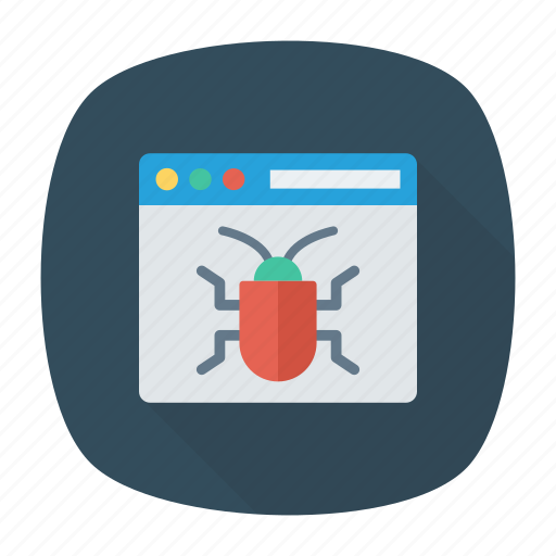 bug, insect, virus, webpage icon