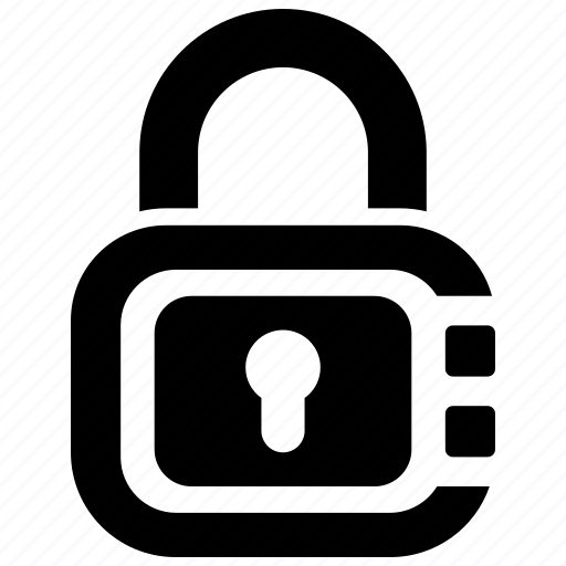 padlock, privacy, secure icon