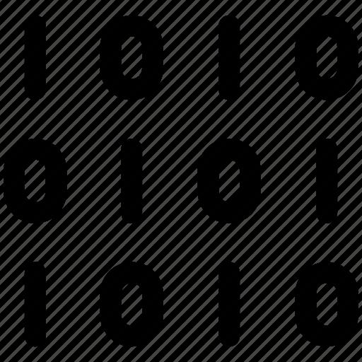 binary, code, coding icon