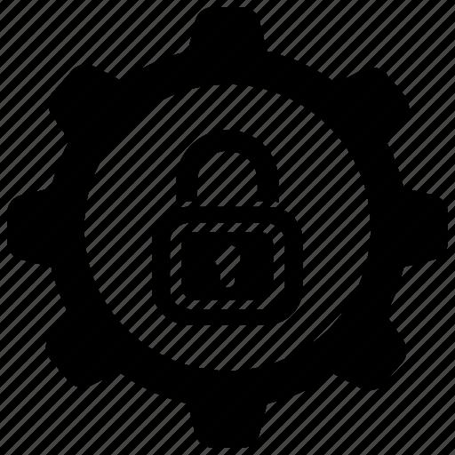 lock, security, setting icon