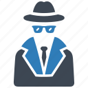 agent, detective, spy icon