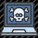 laptop, hack, cybersecurity, secure, hacker