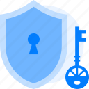 key, key lock, lock, marketing, private, protection, security, seo icon icon