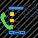 app, call, mobile, phone, smartphone, talk, wireless icon