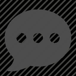 bubble, chat, communication, message, social media, speech, web icon
