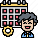 planner, date, schedule, appointment, calendar