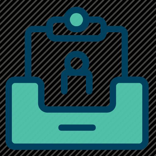 archive, data, file, folder, personal icon
