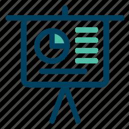 board, chart, diagram, graph, screen icon