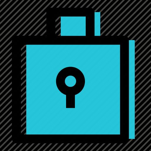 closed, door lock, lock, safety icon