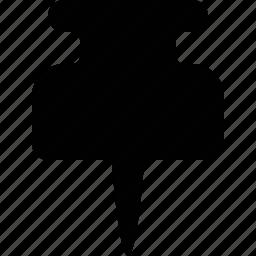 deck, marker, pin icon