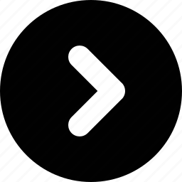 arrow, forward, next, right icon