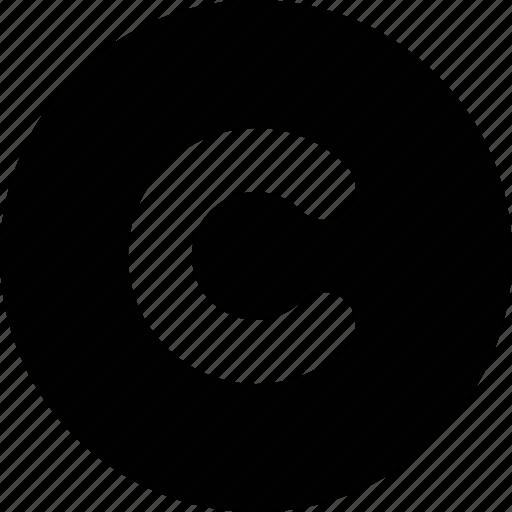 copy, copyright, law, license, right icon