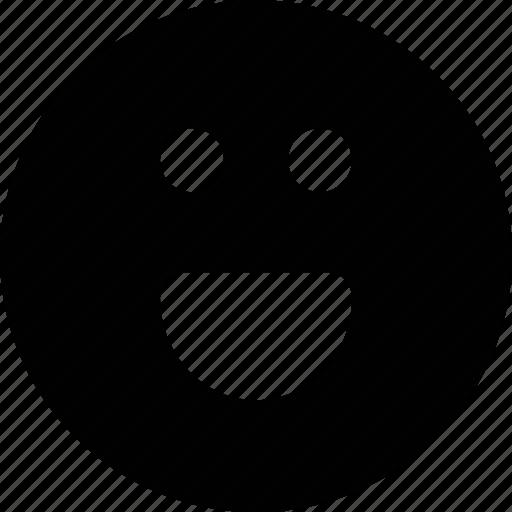 emoji, happy, smile icon