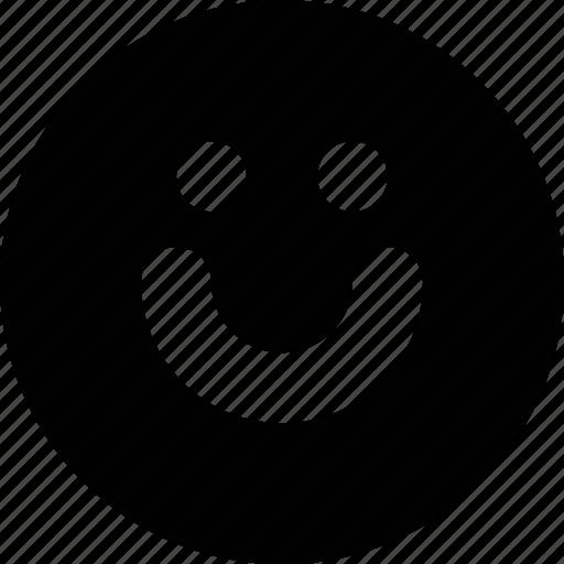 emoticon, emotion, face, happy, smile, very icon