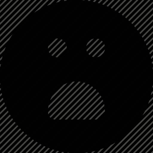 emoji, sad, smile icon