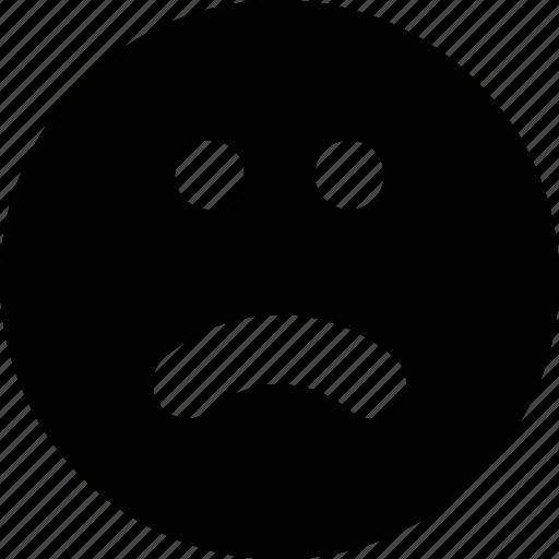 Sad, smile, emoji icon - Download on Iconfinder