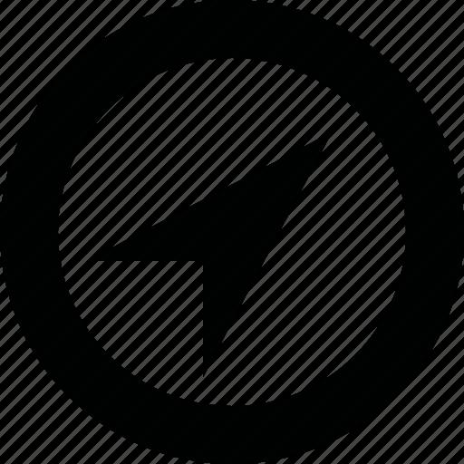 arrow, cursor, geo, gps, location icon
