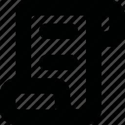 code, paper, script, scroll icon
