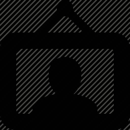 avatar, canvas, image, painting, photo, picture, portrait icon