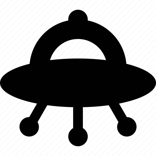 aliens, ship, space, transport, ufo icon