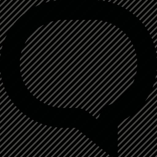 bubble, chat, comment, forum, message, speech, talk, text icon