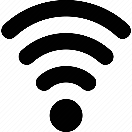 connection, network, signal, waves, wifi icon
