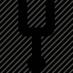 pitchfork, sound icon