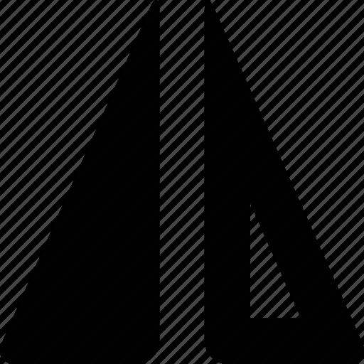 align, mirror, vertical icon