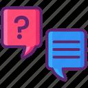 ask, contact, faq, feedback, question