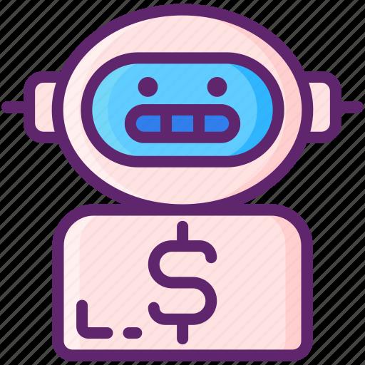 advisor, robo, robo advisor, robot icon