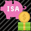 cash, isa, individual, savings, account