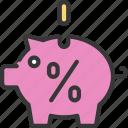 savings, rate, interest