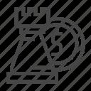 chess, investment, money icon