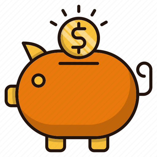 bank, business, investments, piggy, savings icon