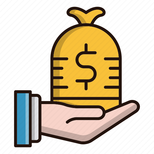 business, cash, currency, investments, profit icon