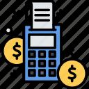 card, dollar, money, transaction icon
