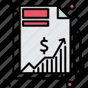 investment, money, profit, turnover icon
