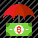 insurance, protection, security, shield, umbrella