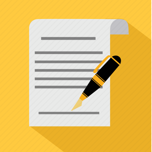 agreement, business, contract, document, finance, money, siganture icon